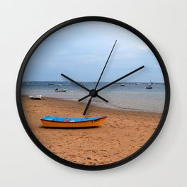 Low Tide Wall Clock