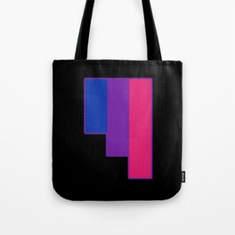 Bisexual and Biromantic Tote Bag