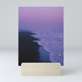 Purple magic Mini Art Print
