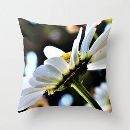 Flower No 4 Throw Pillow