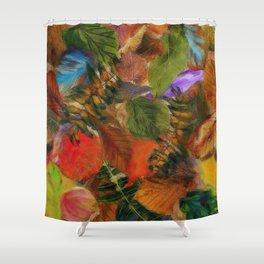 Autumn Leaf Fall 2 Shower Curtain