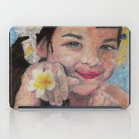 child iPad Cases featuring child by Caterina Zamai