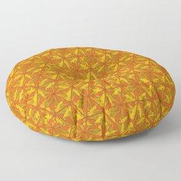 Hexagon Birds - Art Deco Design Floor Pillow
