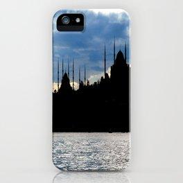 Sultanahmet Camii Skyline Istanbul Turkey iPhone Case