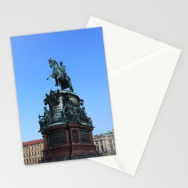 Monument to Nicholas the first. Stationery Cards