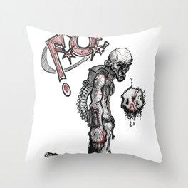 Fred Upplinger Throw Pillow