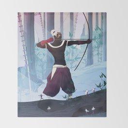 The Hunter Throw Blanket