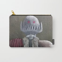 Never Bring a Knife to a Robot Fight Carry-All Pouch