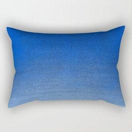 Rich Blue Sky - Pastel Ombre Rectangular Pillow