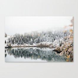 Rock Isle Lake Canvas Print
