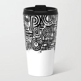 Disorganized Speech #1 Travel Mug