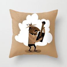 Willie One String Throw Pillow