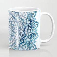 BLUE JEWEL MANDALA Coffee Mug
