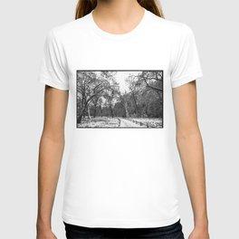 Winter in Yosemite T-shirt