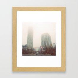 Two Davids - Detroit, MI Framed Art Print