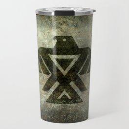 Thunderbird, Emblem of the Anishinaabe people Travel Mug