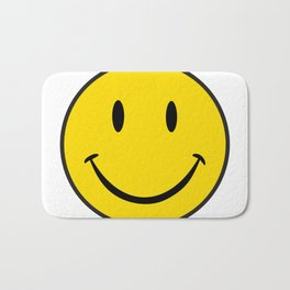 Smiley Happy Face Bath Mat
