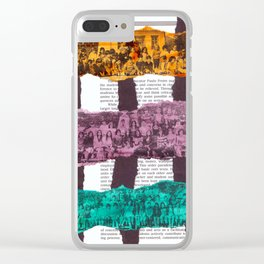 Secondary pt.1 Clear iPhone Case