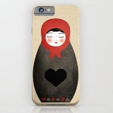 Matryoshka paperdoll Heart iPhone 6s Slim Case