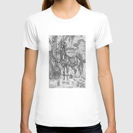 Horse and grapes T-shirt