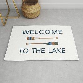 Welcome to the Lake Rug
