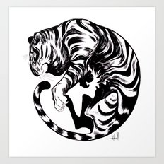 Tiger Day 2014 Art Print