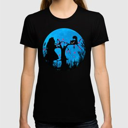Alice In Wonderland Blue Moon T-shirt