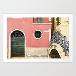 To the calle Art Print