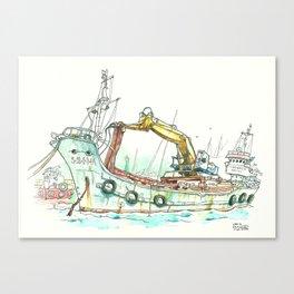 Vidal Cuarto Canvas Print