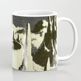 Flammarion - The atmosphere - description of the great phenomena of nature - 1873 Space Landscape Coffee Mug