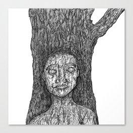 Kasia Tree Canvas Print