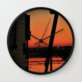 Restoring The Jersey Shore Wall Clock