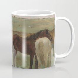 Horses in a Meadow Coffee Mug