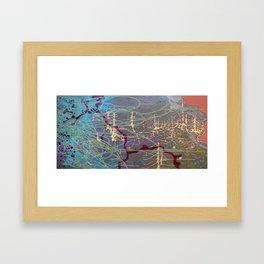 O.B.E to Mars Framed Art Print