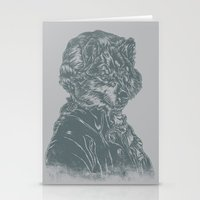 mozart Stationery Cards featuring Wolf Amadeus Mozart by Joshua Kemble