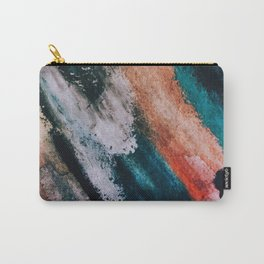 Chaos: a mixed media abstract in a variety of vibrant colors Carry-All Pouch