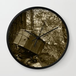 Final Resting Place Wall Clock
