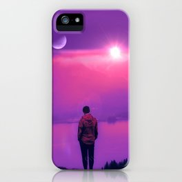 Finding Out the Truth iPhone Case