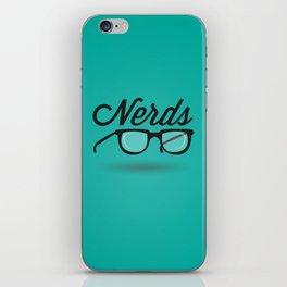 Get your nerd on iPhone Skin