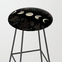 Moonlight Garden - Olive Green Bar Stool