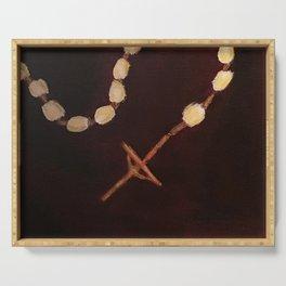 Rosary Serving Tray
