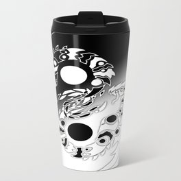 Twin Infinity Dragons Travel Mug