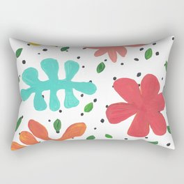 Tropical Leaves Two Rectangular Pillow