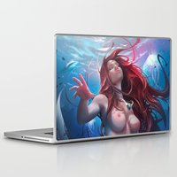 ariel Laptop & iPad Skins featuring Ariel by abraaolucas