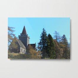 Crathie Church, Balmoral, Scotland Metal Print