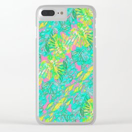 Sydney Pattern Clear iPhone Case