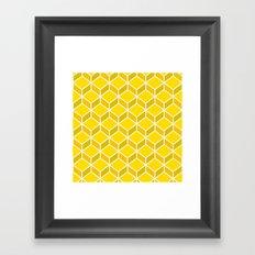 Rando Color 7 Framed Art Print