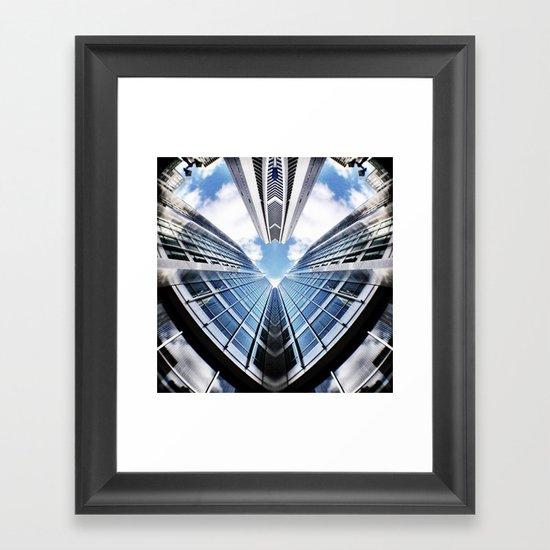 Love Sky High Framed Art Print
