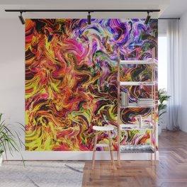 Firey abstract Wall Mural