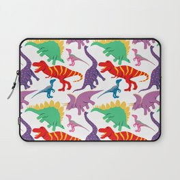 Dinosaur Domination - Light Laptop Sleeve